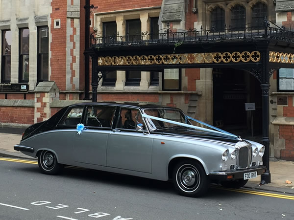 Daimler 7 Seater State Limousine Wedding Car Hire
