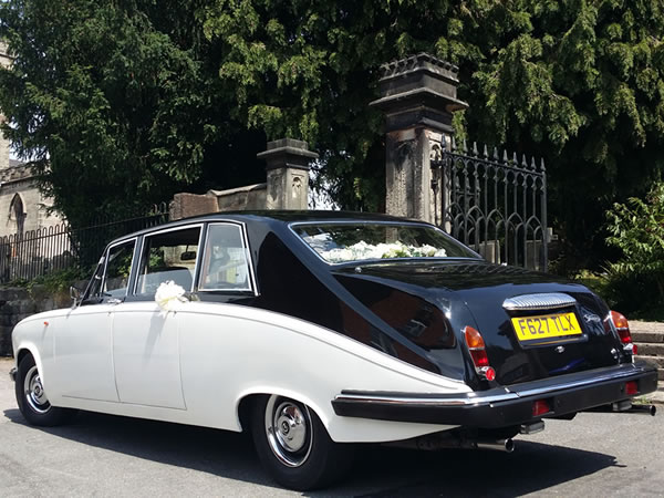 Daimler DS420 7 Seater State Limousine Wedding Car Hire