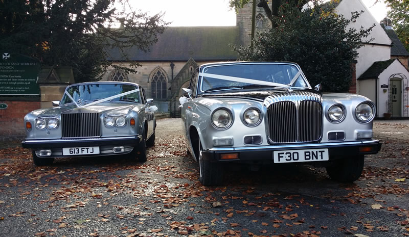 Vintage Wedding Car Hire Derby