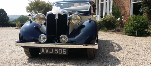 1938 Vintage Daimler Cabriolet wedding car