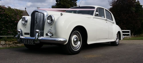 Bentley S1 Saloon wedding car