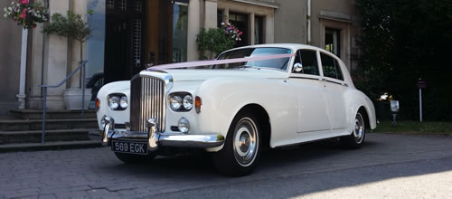 Bentley S3 Saloon wedding car