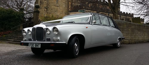 Daimler 7 Seater State Limousine wedding car