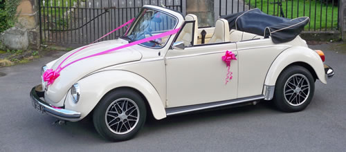 Nottinghamshire Wedding Cars Hire