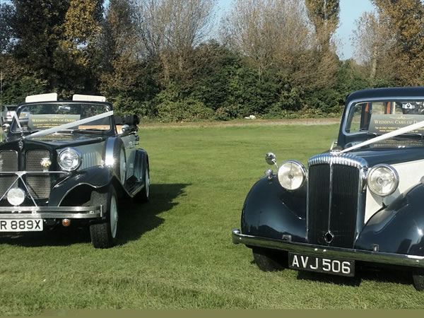 Vintage Daimler with our Beauford Tourer