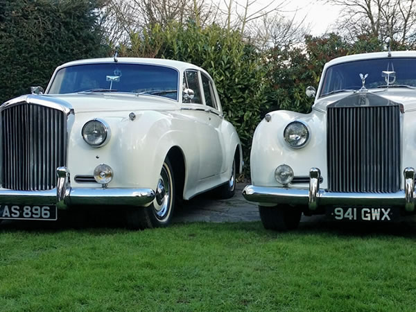 Rolls Royce Silver Cloud with our Bentley S1